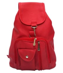 AJ STYLE Red Backpack