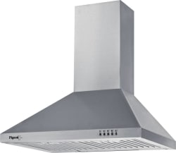 Pigeon Sterling DLX/60 Wall Mounted Chimney (Silver 860)