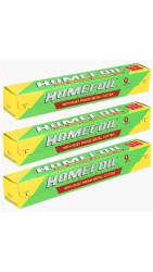 Homefoil Food Wrap Aluminium Foil 9m Pack of 3