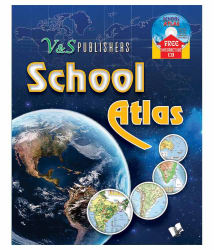 School Atlas (With Cd) Fully Colour