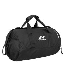 Nivia Black Small Polyester Gym Bag