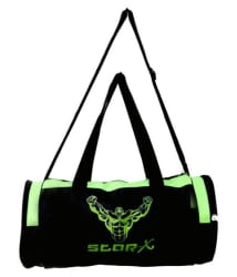 Star-X green and black Gym Bag