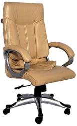 Adiko High Back Office Chair (Cream)
