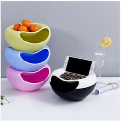 Details about Creative Shape Bowl Perfect For Seeds Nuts And Dry Fruits Storage Box