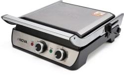Nova Grill Snadwich Maker NGS 2465 Grill (Black, Silver)