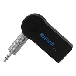 DMG Wireless 3.5mm Car Bluetooth Music Receiver / adapter With MIC Stereo Output for Music Streaming System/Equipment,Home Appliances