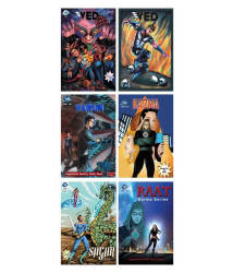 TBS Planet Comics - Silver Combo Pack