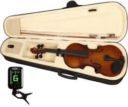 Kadence 4/4 Classical (Modern) Violin (Maroon Yes)