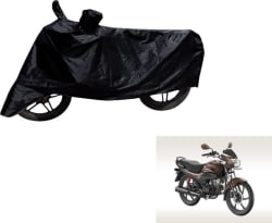 Flipkart SmartBuy Two Wheeler Cover for Hero (Passion Pro, Black)