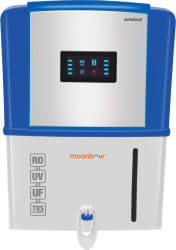 Moonbow Achelous 9 L RO + UV +UF Water Purifier  (Blue and White)