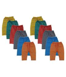 Peridot Credo Comfortable Multicolour Warm Leggings - Pack of 12