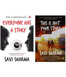 Savi Sharma Combo Pack: This Is Not Your Story & Everyone Has A Story In English