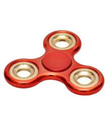 Chrome Classic Red Fidget Spinner