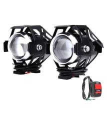 GC International Fog Light For Two Wheelers - Bright White