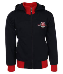 Haig-Dot Navy Blue Quilted Jacket for Boys