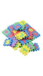 36 Pcs Alphabet And Numerals Kids Play Mat