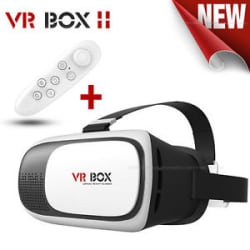 COMBO OFFER 3D VR BOX 2.0 Virtual Reality Glasses Headset With VR Remote.HQ