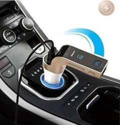 Details about  CARG7 LCD Bluetooth Car Charger FM Kit MP3 Transmitter USB Handsfree Mobile