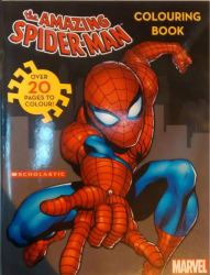 AMAZING SPIDER-MAN COLOURING BOOK (English, Paperback)