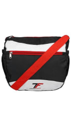 Fashion Track Casual Polyester Sling Bag