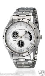 Details about Invaders INV-BRAG-WHT Chronolook Stainless Steel chain watch for Men/Boys