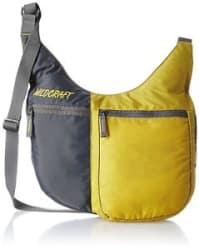 Details about Wildcraft Grabit Nylon 6 Ltrs Yellow Messenger Bag (8903338010043)