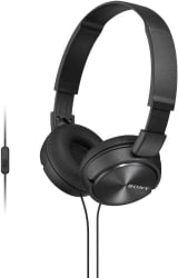 Sony MDR-ZX310APBCE Wired Headset with Mic (Black, Over the Ear)