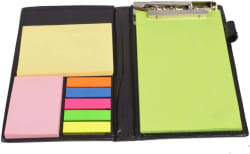 COI A5 Memo Pad  (Memo Neon Notepad, Black)