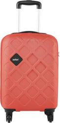 Safari Mosaic Cabin Luggage - 22 inch (Red)