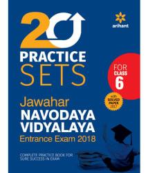 20 Practice class 6th Jawahar Navodaya Vidyalaya 2018