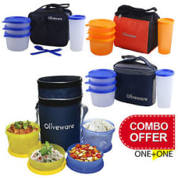Details about OLIVEWARE LUNCH BOX SALE BUY ONE GET ONE