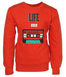 Haig-Dot Red Fleece Sweatshirt