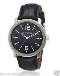Details about  Invaders Adroit Collection ADRT-BLK Formal Watch for Men/Boys