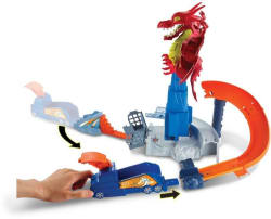 Hot Wheels Dragon Blast Playset (Multicolor)