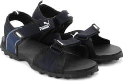 Puma Men black-blue Sports Sandals