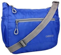 CAIRHO STYLISH AND LIGHT WEIGHT ROYAL BLUE SLING BAG FOR UNISEX