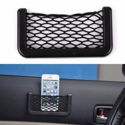 Aeoss Car Net Bag Phone Holder Storage Pocket Organizer for Cellphone/Wallet/Keys/Pens and More