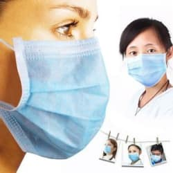 Details about Disposable Non Woven Face Mask Ear Loop - Elastic (100 Pcs)