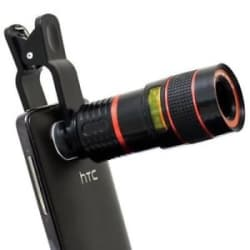 Details about Clip-on 8x Optical Zoom HD Telescope Camera Lens Universal for Mobile Phone
