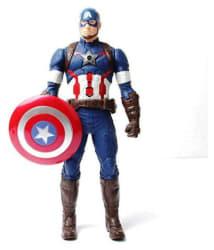MK Enterprises Multicolor Captain America Action Figures
