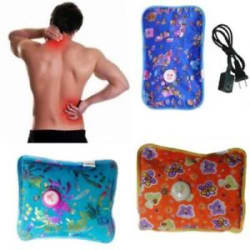 Details about Electric Rechargeable Heating Pad Heat Pad Hot Water Bags for Joint/Muscle Pains