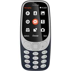 Nokia 3310 (Dark Blue, 16MB) Mobile Phone