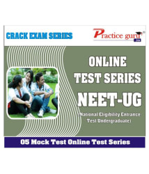5 Online (Full Course) Mock Tests for NEET-UG test