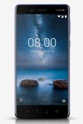 Nokia 8 64GB (Tempered Blue) 4 GB RAM, Dual SIM 4G