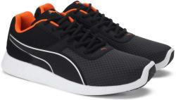 Puma Kor Sneakers For Men (Black, Orange)