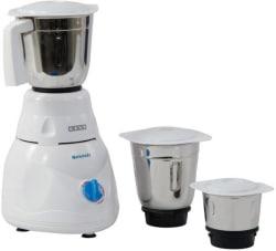 Usha MG 2853 Smash 500 W Mixer Grinder (White, 3 Jars)