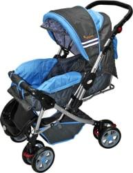 Infanto D Zire Baby Stroller (3, Blue)