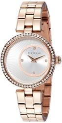 Giordano Analog Silver Dial Women s Watch-A2056-33