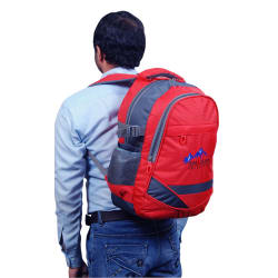 Himalayan Adventures 25 Ltrs Backpack, red