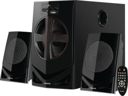 Philips MMS2030F/94 Home Audio Speaker  (Black, 2.1 Channel)